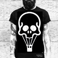 tee ballon skull