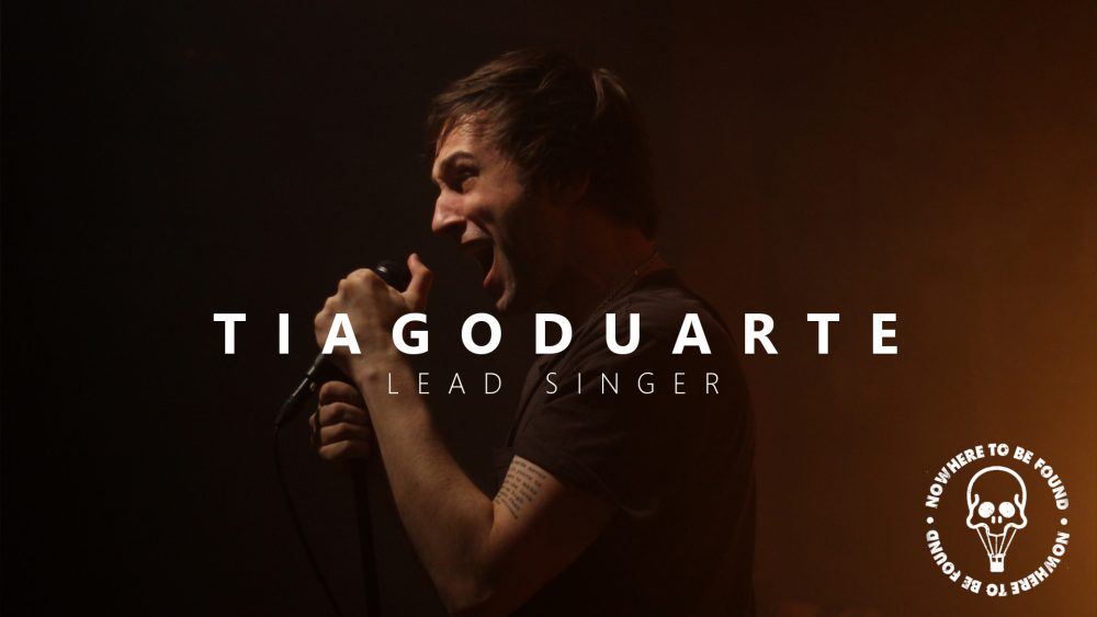 tiago nowhere to be found lead singer